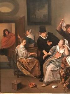 Steen Shady Ladies Philadelphia Museum of Art